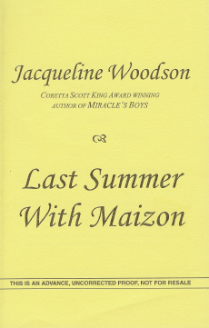 Image for Last Summer with Maizon