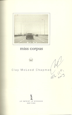 Image for Miss Corpus