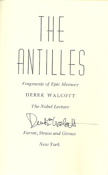 Image for The Antilles: Fragments of Epic Memory