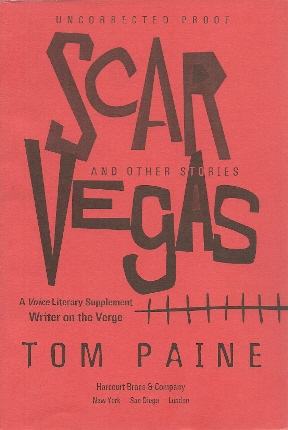 Image for Scar Vegas and Other Stories