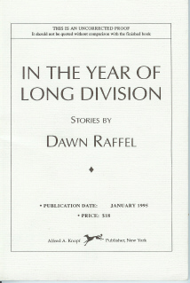 Image for In The Year of Long Division