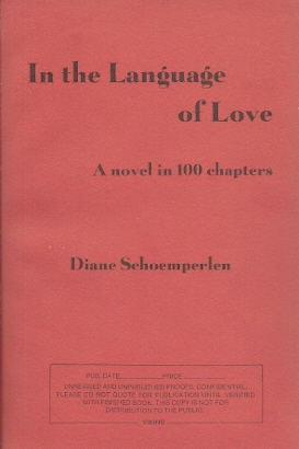 Image for In The Language Of Love: A Novel In 100 Chapters.