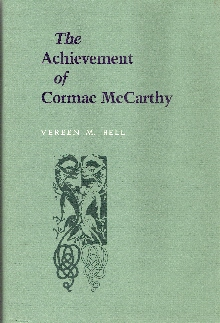 Image for The Achievement of Cormac McCarthy