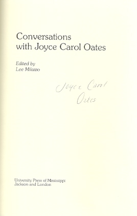 Image for Conversations With Joyce Carol Oates