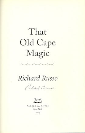 Image for That Old Cape Magic