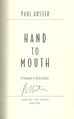 Image for Hand To Mouth (A Chronicle of Early Failure)