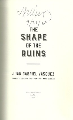 Image for The Shape of the Ruins
