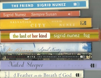 Image for A Feather on the Breath of God: A Novel/For Rouenna/Mitz/Naked Sleeper/The Last of Her Kind/Salvation City/Sempre Susan/The Friend