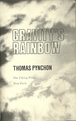 Image for Gravity's Rainbow