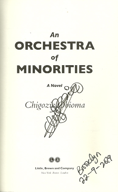 Image for An Orchestra of Minorities