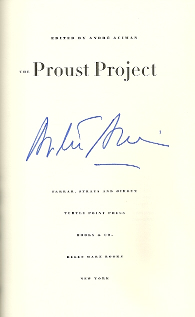 Image for The Proust Project