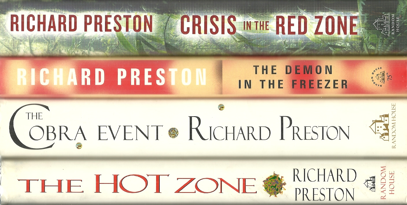 Image for The Hot Zone/The Cobra Event/ The Demon In The Freezer/Crisis in the Red Zone