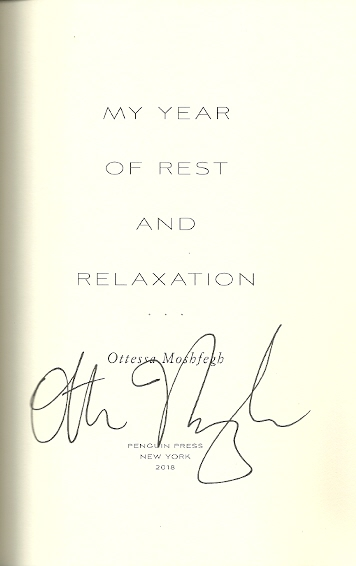 Image for My Year of Rest and Relaxation