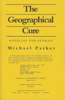 The Geographical Cure , Parker, Michael